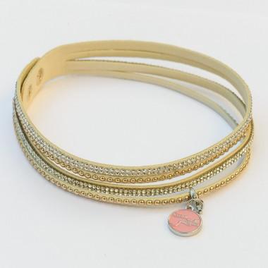 Bracelet Strass Coeur de Gazelles