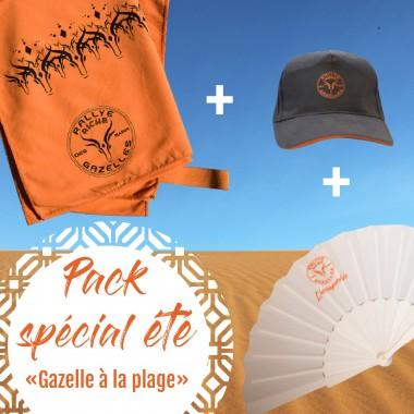 Pack Gazelle à la plage