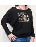 Tee-shirt Chauve-souris Born to be Gazelle