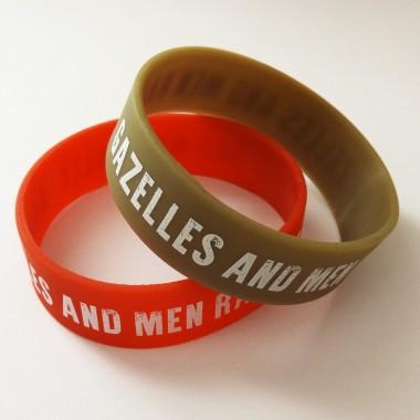 Bracelet Silicone épais Gazelles and Men Rally