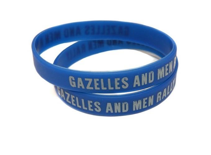 Bracelet silicone Gazelles and Men Rally