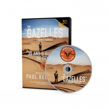 "DVD ""THE GAZELLES L'esprit pionnier"""