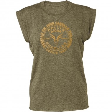 NOUVELLE COLLECTION : Tee-shirt Femme marquage OR