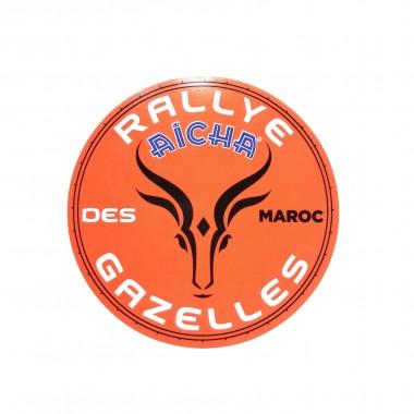 LOT DE 10 STICKERS RALLYE AÏCHA DES GAZELLES DU MAROC