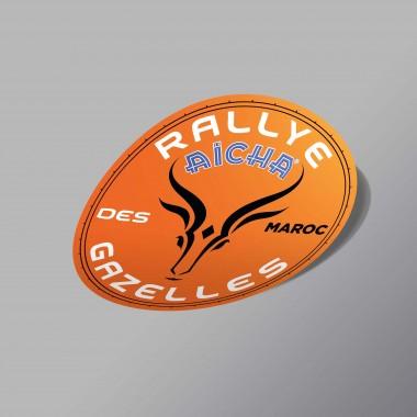 STICKER RALLYE AÏCHA DES GAZELLES DU MAROC