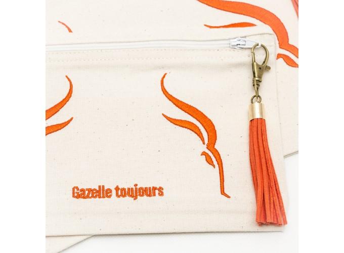 Grande Trousse Coton Gazelle Toujours