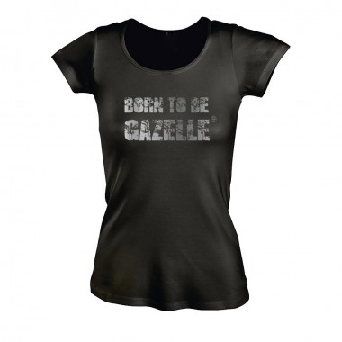 Tee-shirt Born to be Gazelle