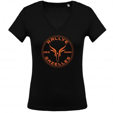 Tee-shirt Femme Rallye Aïcha des Gazelles - grand logo