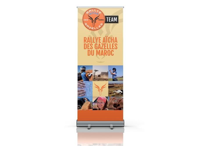 "Pack ""visibilité"" Rallye Aïcha des Gazelles"