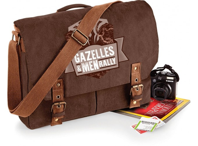 Sacoche bandoulière vintage Gazelles & Men Rally