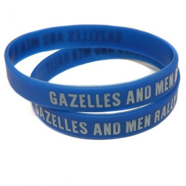 Bracelet silicone Gazelles and Men Rally