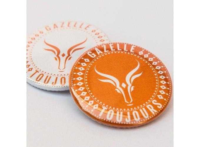 Lot de 50 Badges Gazelle Toujours